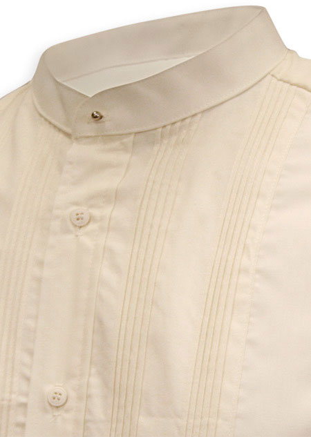 Custom Ivory Dress Shirt