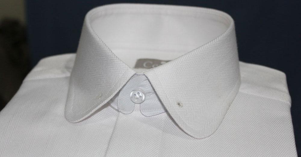 Round collar shirt round collar dress shirts rounded for Round collar shirt men