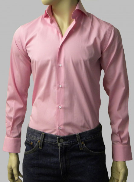 Pink Custom Dress Shirt