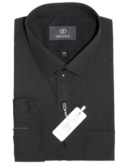 Black Broadcloth Shirt