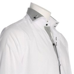 Men's White Designer Shirt